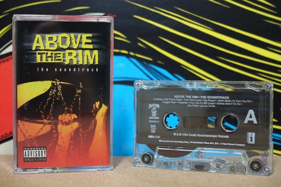 Above The Rim - The Soundtrack by Various Artists including 2Pac TLC Vintage Cassette Tape