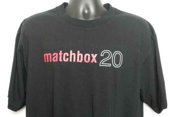1997 Matchbox 20 Vintage T Shirt - Yourself Or Someone Like You Rob Thomas Original 90s Band Tee Concert T-Shirt