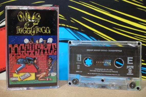 Snoop Doggy Dogg - Doggystyle Cassette Tape - 1993 Death Row Interscope Records Vintage Analog Music