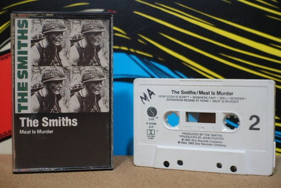 The Smiths - Meat is Murder Cassette Tape - 1985 Sire Records - Vintage Analog Music