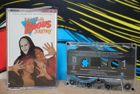 Bill & Ted's Bogus Journey (Original Motion Picture Soundtrack) by Various Artists Vintage Cassette Tape