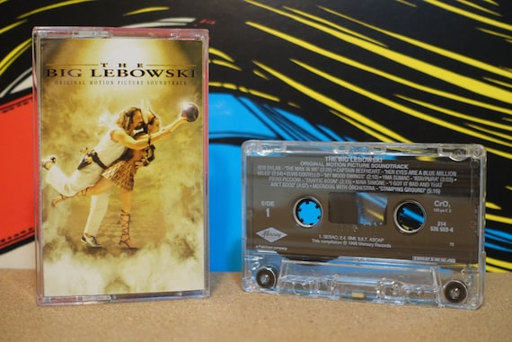 The Big Lebowski (Original Motion Picture Soundtrack) by Various Artists Vintage Cassette Tape