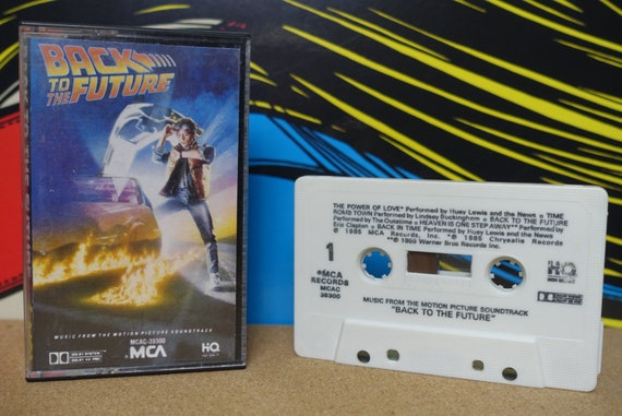 Back To The Future Cassette Tape (Music From The Original Motion Picture Soundtrack) by Various Artists Vintage Analog Music
