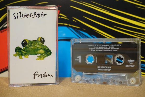 Frogstomp by Silverchair Vintage Cassette Tape