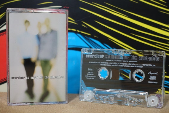 So Much For The Afterglow by Everclear Vintage Cassette Tape