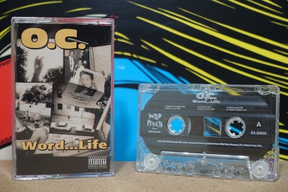 Word...Life by O.C. Vintage Cassette Tape