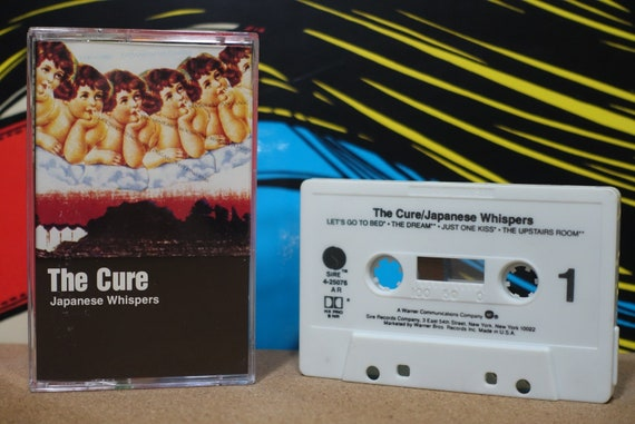 Japanese Whispers by The Cure Vintage Cassette Tape