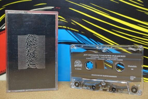 Joy Division - Unknown Pleasures Cassette Tape - 1979 Qwest Records - Vintage Analog Post Punk Music