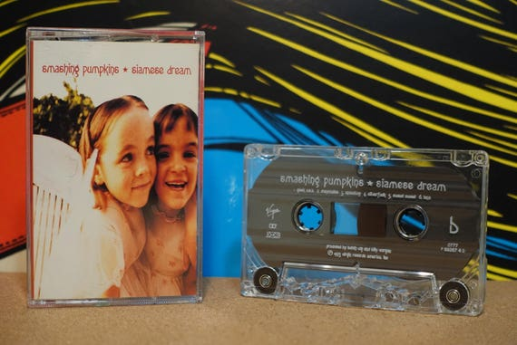 Siamese Dream by Smashing Pumpkins Vintage Cassette Tape