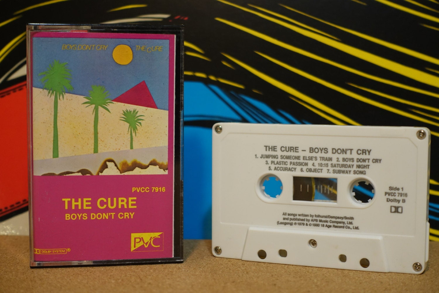 74833ce58 Boys Don't Cry by The Cure Vintage Cassette Tape. gallery photo ...