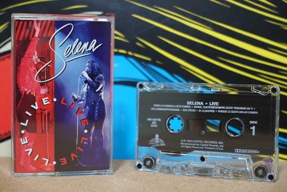 Live by Selena Vintage Cassette Tape