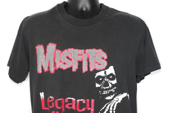 1999 Misfits Vintage T Shirt - DANZIG Legacy of Brutality Wolfgang von Frankenstein - Horror Punk 2 SIDED Original 90s Concert Band T-Shirt