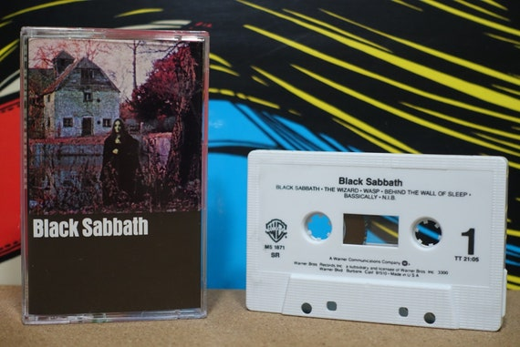 Black Sabbath by Black Sabbath Vintage Cassette Tape