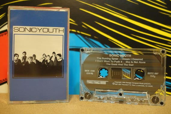 Sonic Youth by Sonic Youth Cassette Tape - 1987 SST Records - Vintage Analog Music