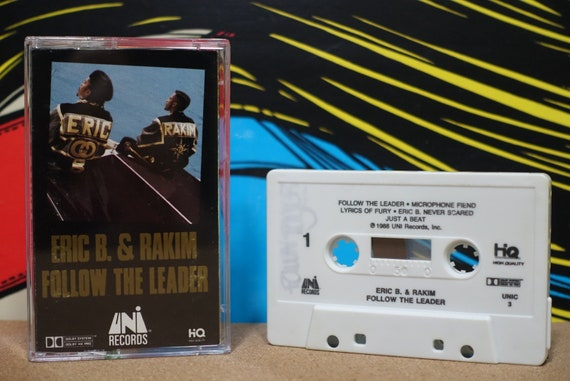 Follow The Leader by Eric B & Rakim Vintage Cassette Tape