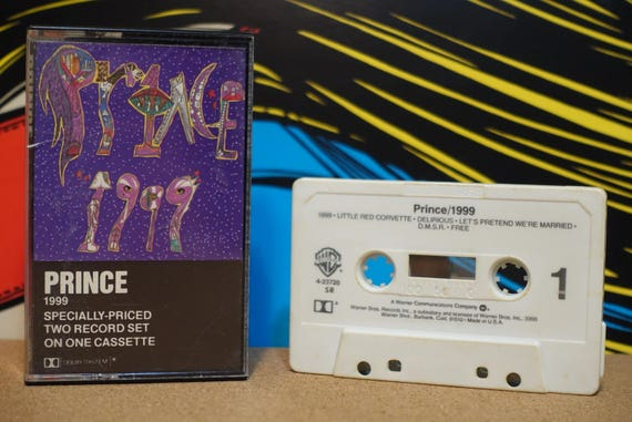 1999 by Prince Vintage Cassette Tape