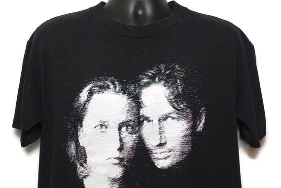 1998 The X-Files Vintage T Shirt - Dana Scully Fox Molder Hologram - Fight Future Movie Cult Alien Fox TV Show Original 90s ONEITA T-Shirt
