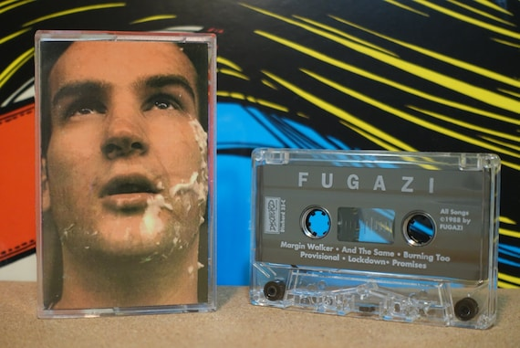 Margin Walker by Fugazi Vintage Cassette Tape
