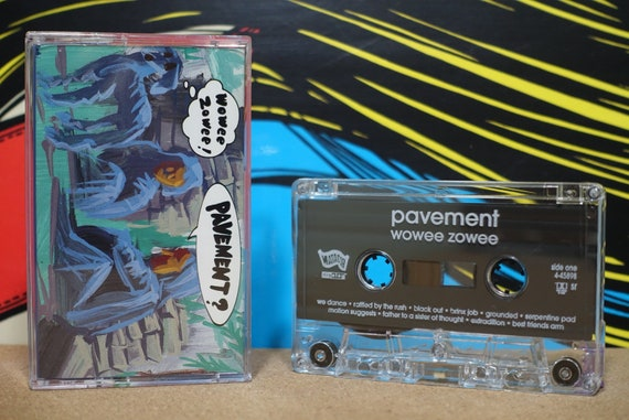 Wowee Zowee by Pavement Vintage Cassette Tape