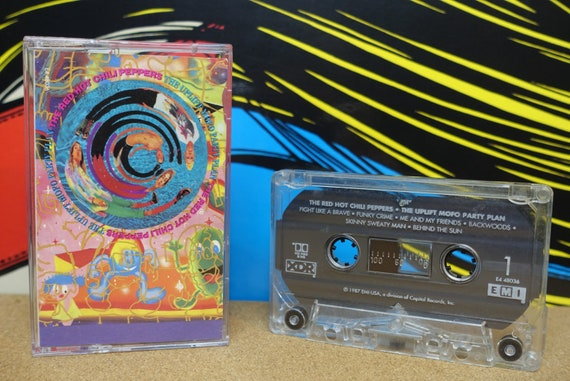 Red Hot Chili Peppers - Cassette Tape The Uplift Mofo Party Plan - 1987 EMI USA  - Vintage Analog Music