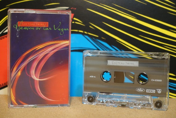 Cocteau Twins - Heaven or Las Vegas Cassette Tape - 1990 Capitol Records Vintage Shoegaze Analog Music