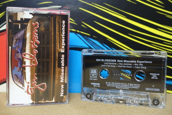 Gin Blossoms New Miserable Experience Cassette Tape - 1992 A&M Records Vintage Analog Music