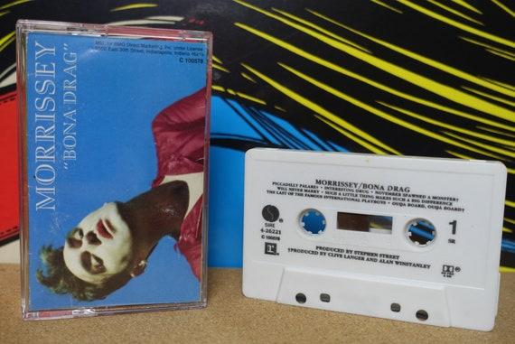 Morrissey Bona Drag Cassette Tape - 1990 Sire Records Vintage Analog Music