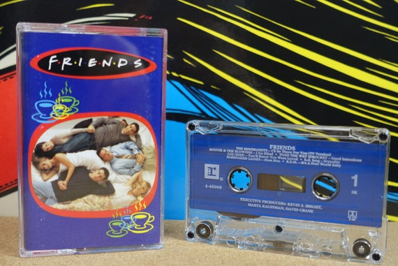 Friends by Various Artists Vintage Cassette Tape