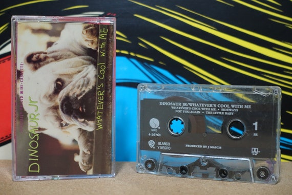 Dinosaur Jr - Whatever's Cool With Me Cassette Tape - 1991 Sire Records - Vintage Analog Music