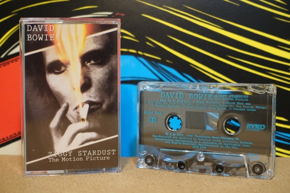 Ziggy Stardust - The Motion Picture by David Bowie Vintage Cassette Tape