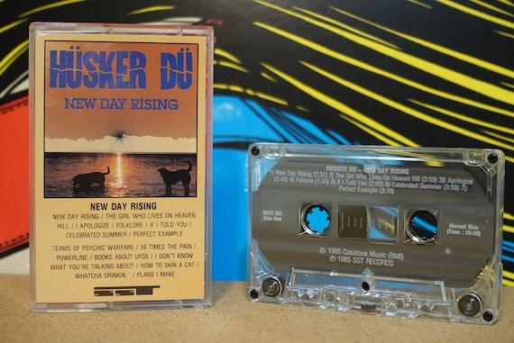 New Day Rising by Hüsker Dü Vintage Cassette Tape