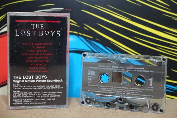 The Lost Boys - Original Motion Picture Soundtrack by Various Artist Vintage Cassette Tape
