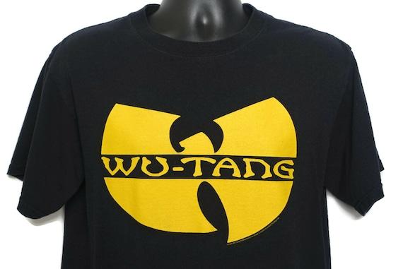 2000s Wu Tang Clan T Shirt Rap Tee - Medium Red Bar Anvil Tag