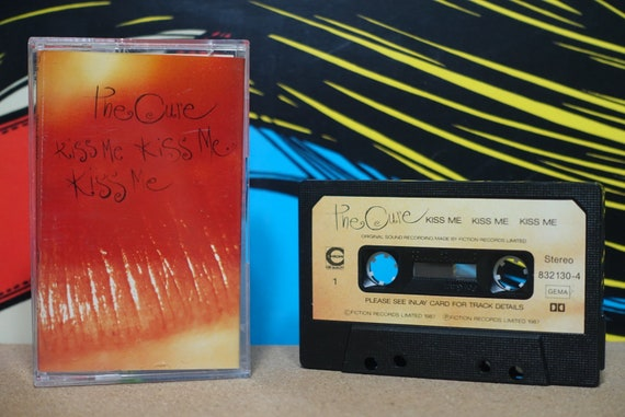 Kiss Me Kiss Me Kiss Me (Rare Polish Pressing) by The Cure Vintage Cassette Tape