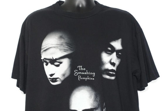 1998 Smashing Pumpkins Vintage T Shirt - '98 Adore Tour 2 Sided Giant Branded Original 90s Concert Band T-Shirt