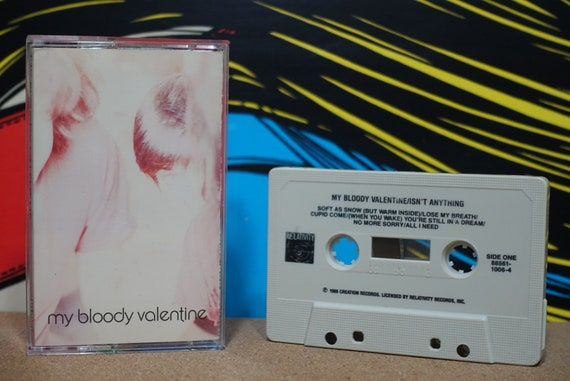 Isn't Anything by My Bloody Valentine Vintage Cassette Tape