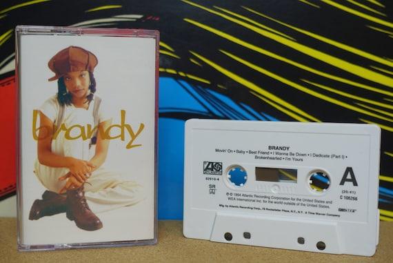 Brandy Cassette Tape, Hip Hop Cassette, 90s Cassette Tapes, 1994 Atlantic Records, Music Lover, Music Lover Gift, Vintage Analog Music
