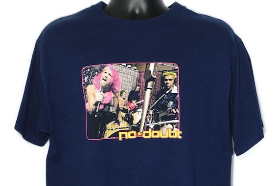 2000 No Doubt Vintage T Shirt - Gwen Stefani Return of Saturn Tour Original 00s Concert Band T-Shirt