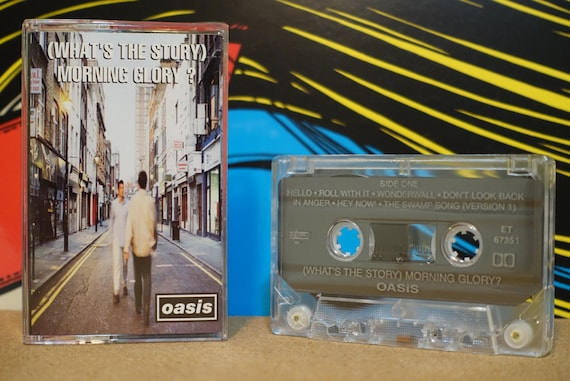 What's The Story Morning Glory? by Oasis Vintage Cassette Tape