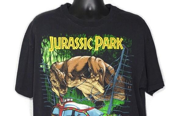 1993 RARE XL Jurassic Park - Jeep T. Rex Vintage T-Shirt