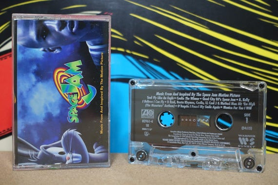 Space Jam - Music From And Inspired By The Motion Picture by Various Artists Vintage Cassette Tape