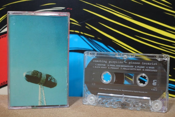 Pisces Iscariot by Smashing Pumpkins Vintage Cassette Tape