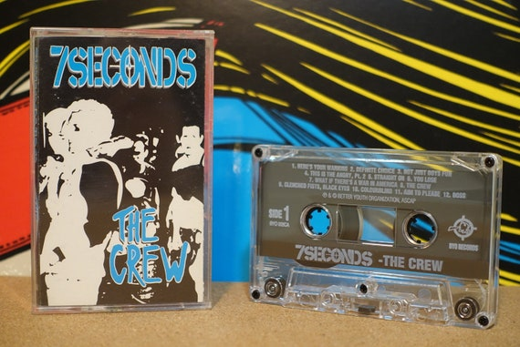 Old School by 7 Seconds Vintage Cassette Tape