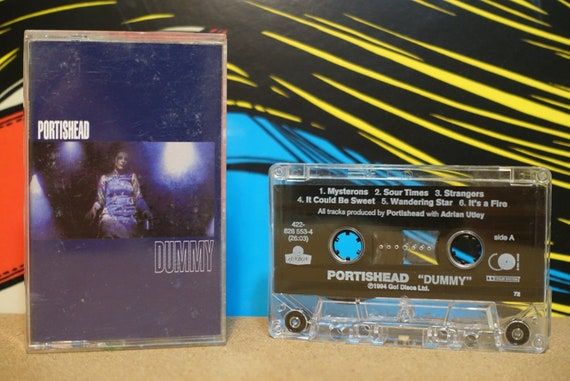 Dummy by Portishead Vintage Cassette Tape