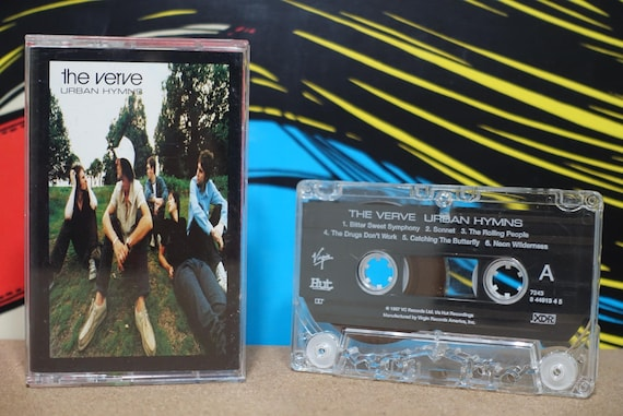 Urban Hymns by The Verve Vintage Cassette Tape