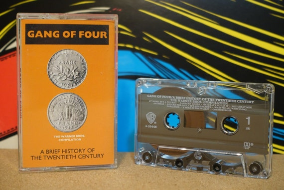 A Brief History Of The Twentieth Century by Gang Of Four Vintage Cassette Tape