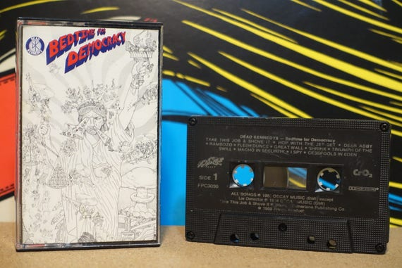 Bedtime For Democracy (RARE Canadian Pressing) by Dead Kennedys Vintage Cassette Tape