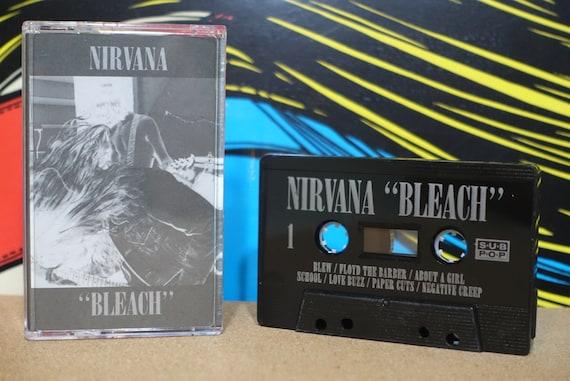 Nirvana - Bleach (Reissue) Cassette Tape