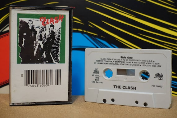 The Clash by The Clash Vintage Cassette Tape
