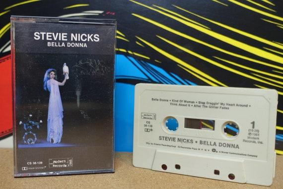 Stevie Nicks Cassette, Bella Donna Cassette Tape, Fleetwood Mac Era, 1981 Modern Records Vintage Analog Music, Music Lover Gift
